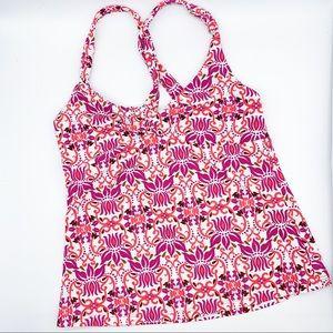 PRANA tankini bathing suit top, M.